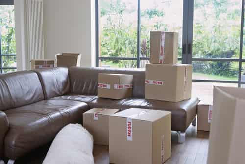 Too many cardboard boxes?