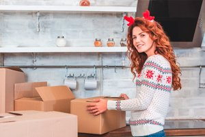 Deck the Halls with Moving Boxes!